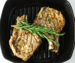 Grilled L.A. Pork Chops