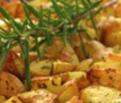 Garlic & Rosemary Saute Potatoes