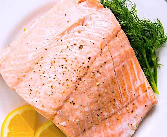 Perfect Poached Salmon