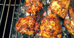 James McConnell Cooks Jerk Chicken Cooked on BBQ