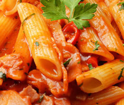Penne all'Arrabbiata, Pasta In Tomato Sauce