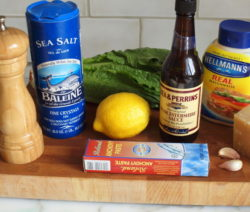Caesar Dressing Ingredients