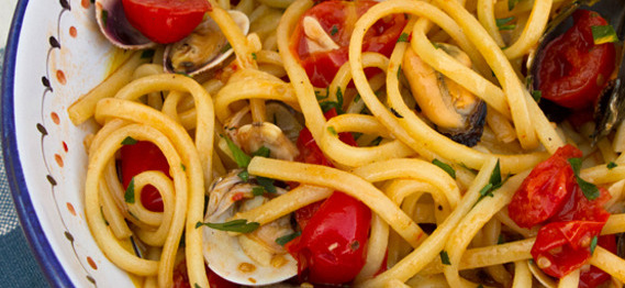 Clam Mussel Linguine