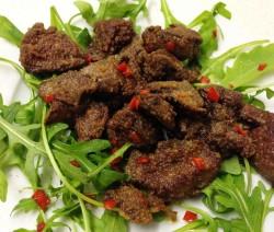 James' Spicy Chicken Livers