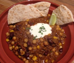 James McConnell Cooks Chilli Beef