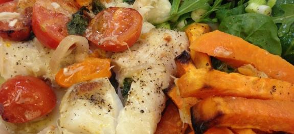 Healthy-er Fish n Chips