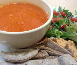 Chorizo Red Pepper & Sweet Potato Soup