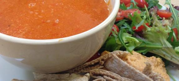 Chorizo Red Pepper & Sweet Potato Soup