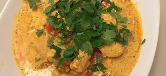 James McConnell Cooks Chicken Masala