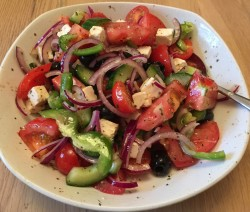 James McConnell Cooks Greek Salad