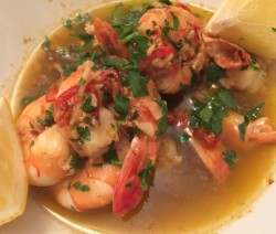 James McConnell Cooks Gambas Pil Pil