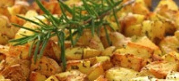 Garlic & Rosemary Saute Potatoes