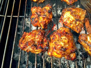 Jerk Chicken Cooked on BBQ