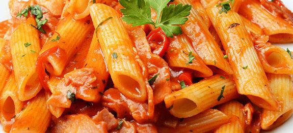 Penne all'Arrabbiata, Pasta In Tomato Sauce