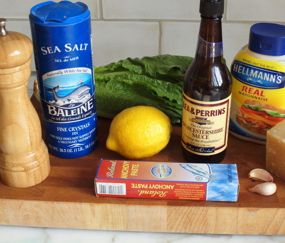 Caesar Dressing Ingredients