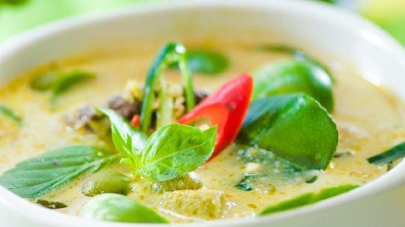Jimmy Macs Thai Green Chicken Curry